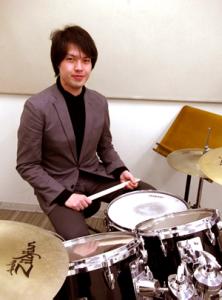 ドラム講師・蔭山寛之