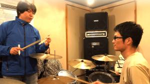 蔭山ドラム教室・大人のクラス