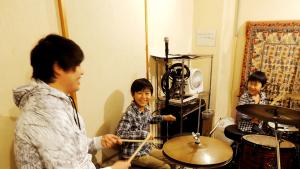 蔭山ドラム教室キッズクラス
